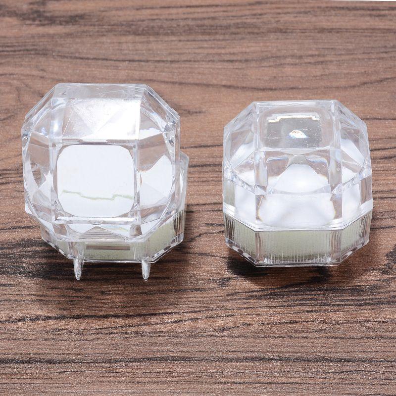 fashion Plastic Wrist Watch Box Jewelry Bangle Bracelet Display Storage Holder Organizer