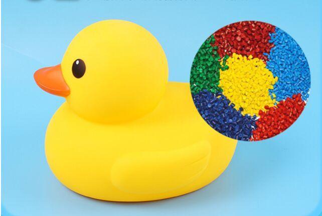 Gros jouets de l'eau de bain bébé canard jaune jouets sons canards en caoutchouc jaune enfants se baigner cadeaux de plage de natation plus d'options de taille