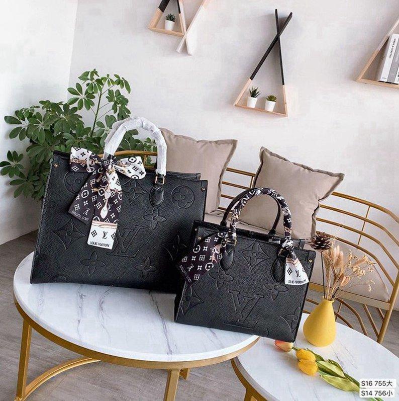 Neue Luxus-Frauen Leder Mode Schulterkurierhandtasche Clutch Luxus 3AA + Tote Messenger - 0091