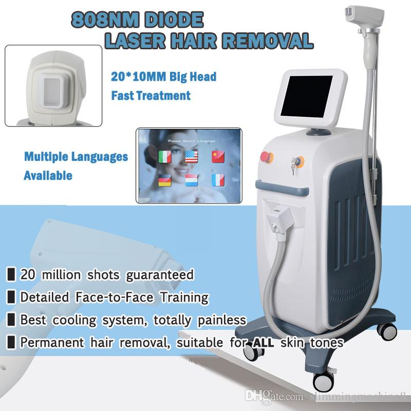 Good Price Permanent Laser Hair Removal Home Device System 808nm
