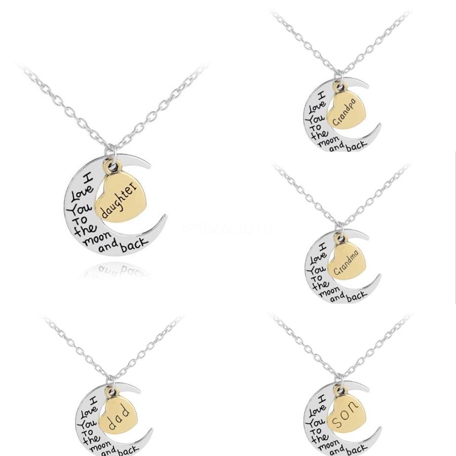 New Creative English Letter Group Time Gemstone Necklace Convex Round Glass Alloy Pendant Accessories Exquisite Foreign Trade Jewelry#476
