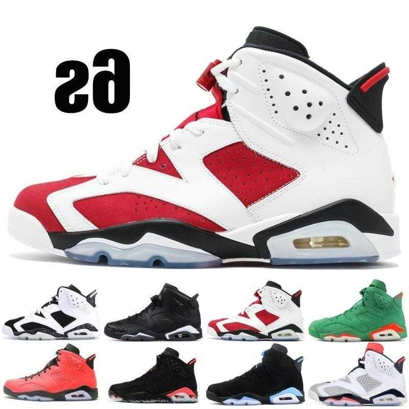 Basketball Hot 6 6s Hommes Femmes Chaussures Noir Chat Blanc Angry Hare Carmine infrarouge Bull Sport bleu Oreo olympique Maroon sport Chrome Sneakers