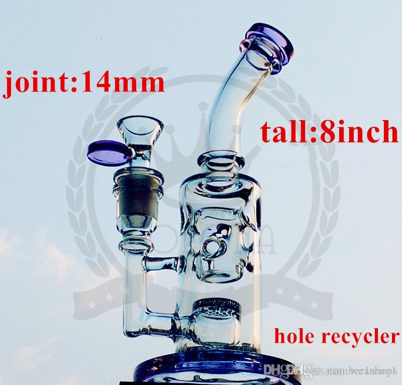 Corona Titanio Nail Vetro tubo Bong alto FC Klein bong FC acqua Torus bong 5mm di spessore dei pneumatici perc olio riciclatore rigs pipa ad acqua in vetro