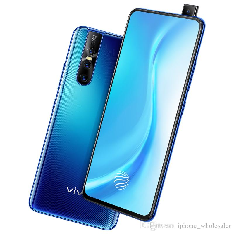 Orijinal Vivo S1 Pro 4G LTE Cep Telefonu 8 GB RAM 128 GB ROM Snapdragon 675 Octa Çekirdek Android 6.39 inç 48MP Kaldırma Parmak İzi Kimlik Cep Telefonu