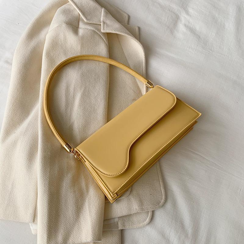 Red Net Bolsa feminina 2020 primavera e no verão afluxo de bolsa de ombro selvagem coreano moda exclusivo saco nas axilas pacote móvel