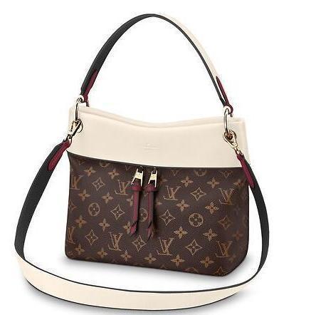 M43576 Tuileries Besace White Real Caviar Lambskin Le Boy Chain Flap Bag Handbags Shoulder Messenger Bags Totes