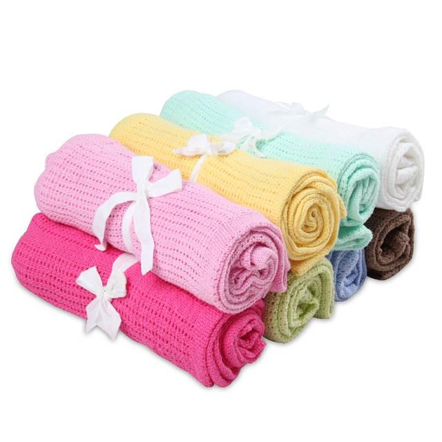Summer Cotton Baby Blankets 8 Candy Colors Infants Travel Blankets Newborn Baby Bedding Swaddle Toddler Photography Prop Towel 70*90cm