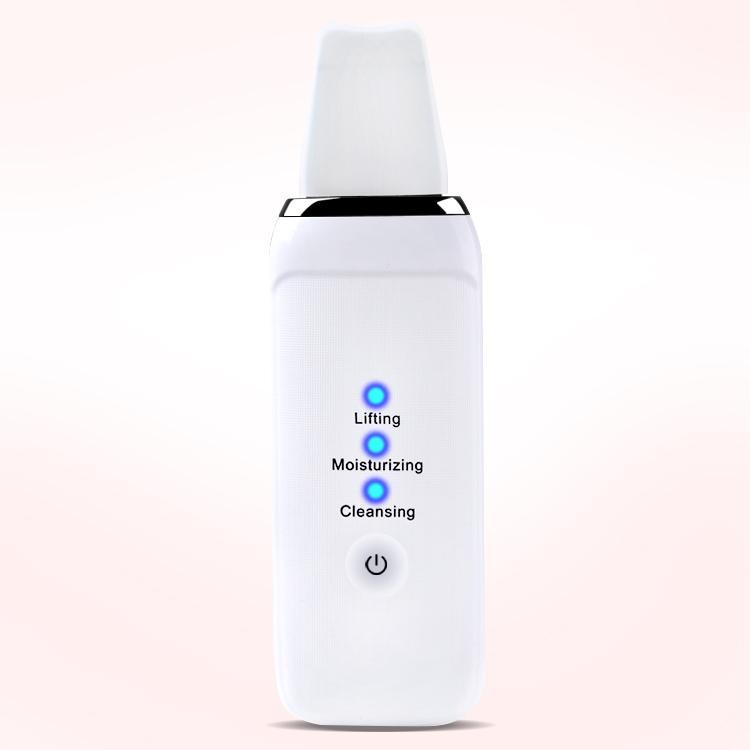 femmes libres d'expédition machine à ultrasons pelle du visage extraction des comédons remove mode épurateur peau sonique dispositif de beauté de boutons