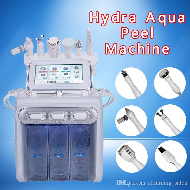Yeni Su Hidro Dermabrazyon Mikrodermabrazyon Soyma Yüz Temizleme Cilt Gençleştirme güzellik makinesi akne kırışıklık giderici CE