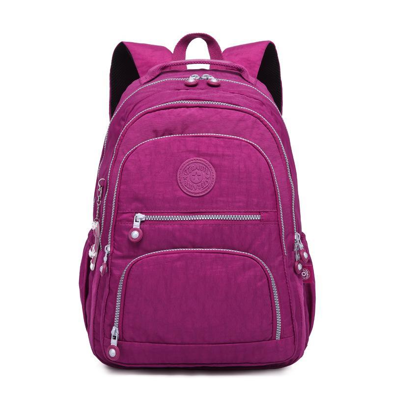 Fabricant vente directe sacs à dos de gros sacs à dos de voyage pratique sacs à dos en nylon lavé grand sac à dos de capacité