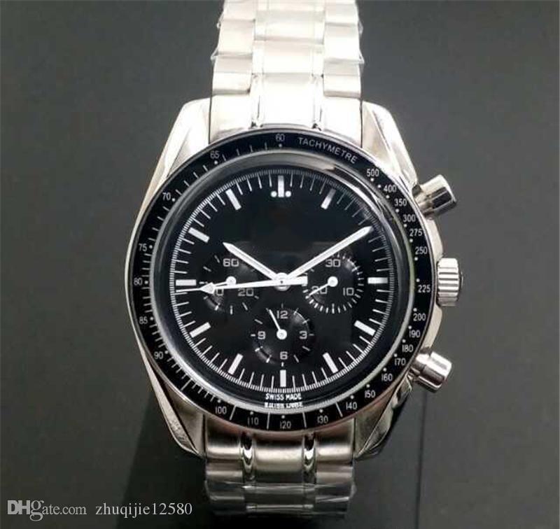 2019 luxo assistir homens da série OMD marca suíça de designer mens relógios movimento automático mechnical wristwatches safira cristal