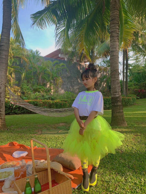 아기 소녀 여름 셔츠와 투투 스커트 무성한 어린이 발레 키즈 아기 소녀 스커트 공주 얇은 명주 그물 파티 댄스 스커트 하락 선박
