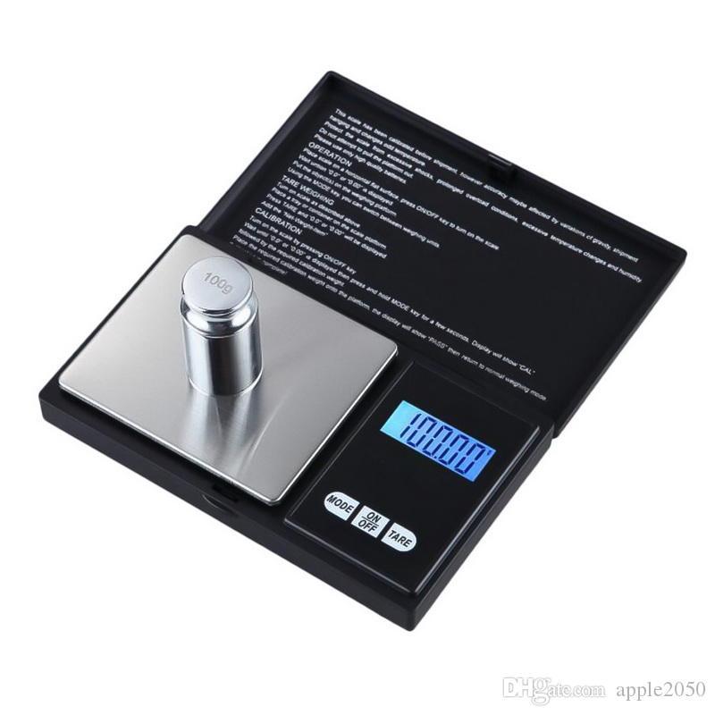 Aço inoxidável Mini Eletrônica Digital Kitchen Scale Precision Electronic Escalas Food Medição Peso Cozinha LED balança eletrónica quente