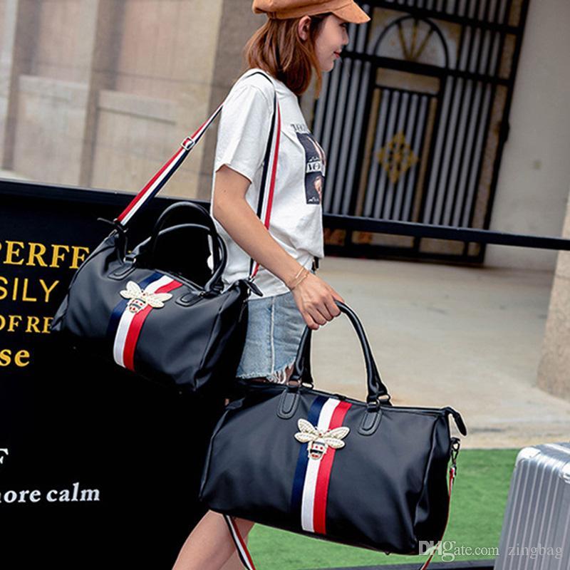 Borsa da viaggio di marca di moda Uomo Borse da donna di design borse a tracolla Borse di grande capacità del progettista borsone sportivo impermeabile