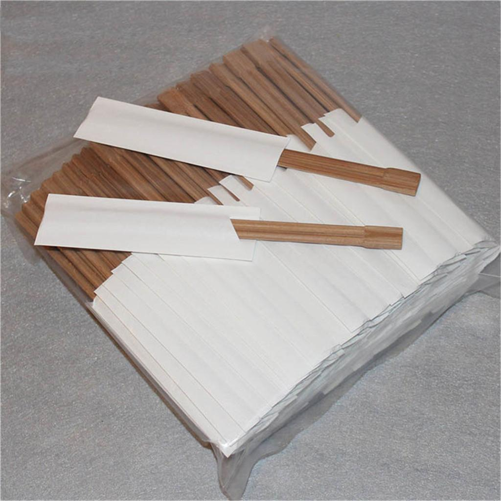 100 Pairs/Pack Disposable Bamboo Wood Chopsticks Restaurant Package Chop Sticks Sushi Food Stick Tableware 8 Inch Palillos
