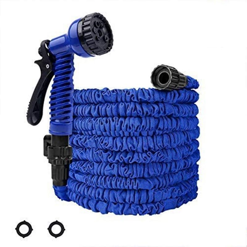 Garden Hose, 25Ft Water Hose, Expandable Garden Hose with Double Latex Core, Durable Flexible Water Hose