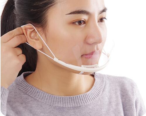 الوشم من البلاستيك الشفاف قناع الوجه البيئية للوشم مواد التنظيف ماكياج الدائم Accessoire الوشم للحصول على شحن مجاني
