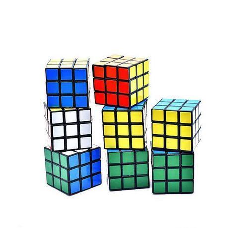 퍼즐 큐브 작은 크기 3cm 미니 매직 매직 큐브 게임 매직 학습 교육 게임 매직 큐브 좋은 선물 장난감 감압 장난감 SHU23