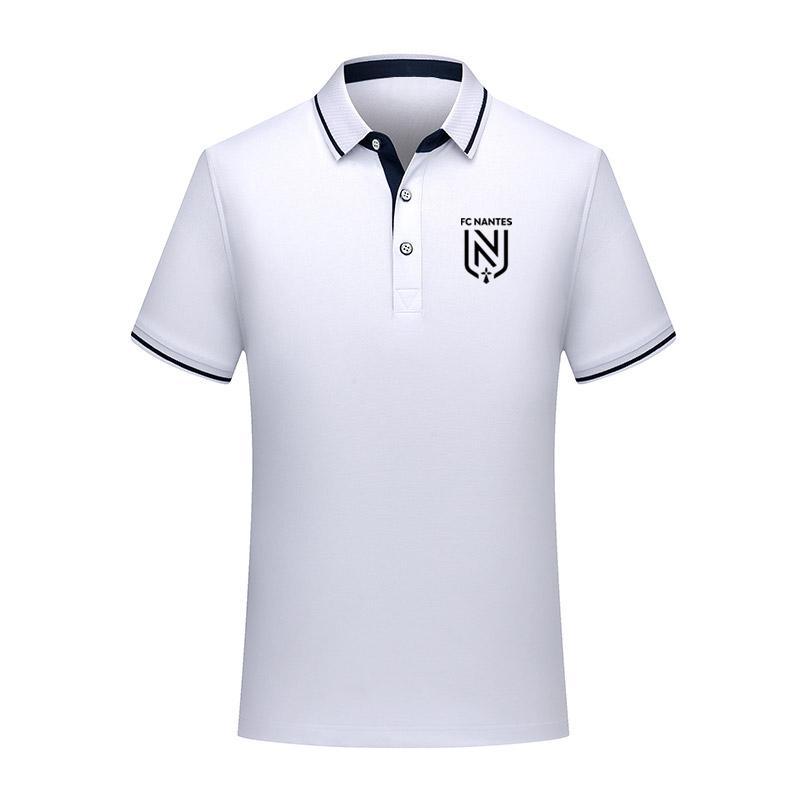 2020 FC Nantes Calcio Polo Camicia Degli Uomini di calcio Manica Corta Polo di sport di Modo di formazione Polo di calcio di calcio T-Shirt Jersey Degli Uomini di polo