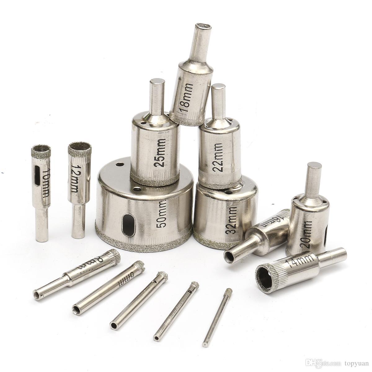14 mm Cortador de sierra con orificio de diametro para baldosas de ceramica de vidrio