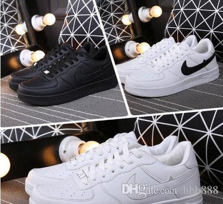 Vendita calda 2019 versione aggiornata Scarpe Nuovi tutto bianco Uomini e donne scarpe moda casual formato degli Stati Uniti 5,5-9,5