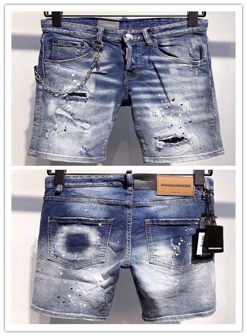 2020 heiße Markendesign Persönlichkeit einfache Herren-Jeans oben populäre hochwertige Mode Luxus Cowboy Herren-heißen Verkauf D9639-1