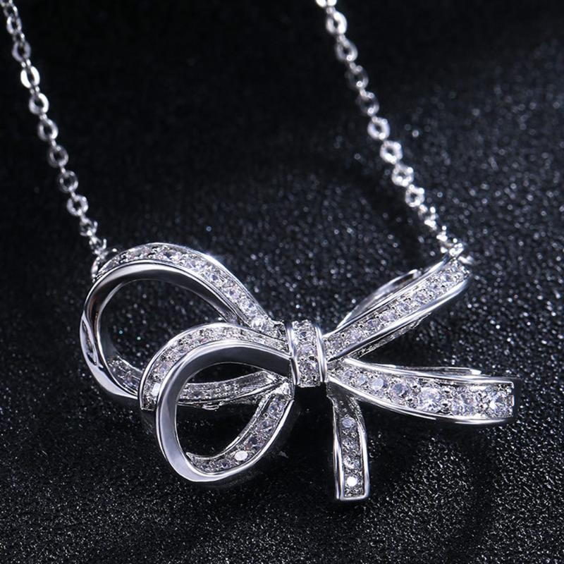 Gioielli Yobest nuova annata di modo Collana lunga catena Bow di stile per le signore delle decorazioni Pendant Choker Gioielli 2020 all'ingrosso