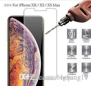 iphoneX XS XR XS Max HD прозрачный взрывозащищенный 0.2 мм ультра тонкий закаленное стекло протектор экрана телефон защитная пленка
