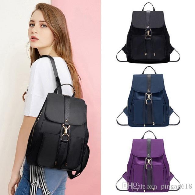 Backpack Women Leather Mini School Backpacks For Teenage Girls Small Classic Shoulder Bag Kanken