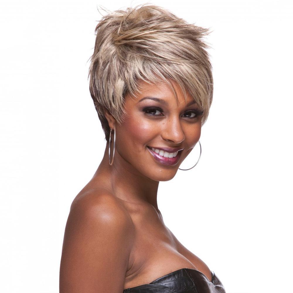 """8"""" recto natural resistente al calor cortocircuito de la manera Señora Bob pelucas de pelo corto recto con Encanto pelucas para las mujeres Ombre peluca sintética Bob"""