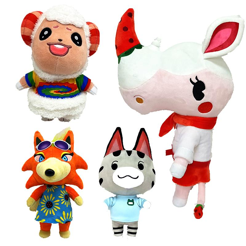 Animal Crossing Plush Isabelle Kicks/Shank New Leaf Kapp'n/Kappei DJ K.K. Slider NFC Plush Toy for switch NS Games Plush Toy Amiibo Brewster
