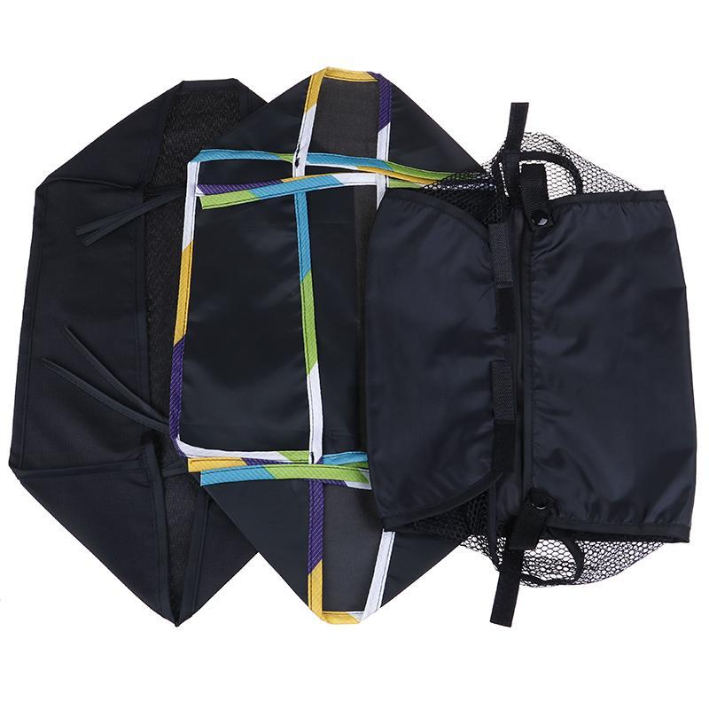 Cochecito de bebé cesto inferior portátil del organizador del bolso del carro de la cesta por cochecito infantil para colgar del cochecito Accesorios