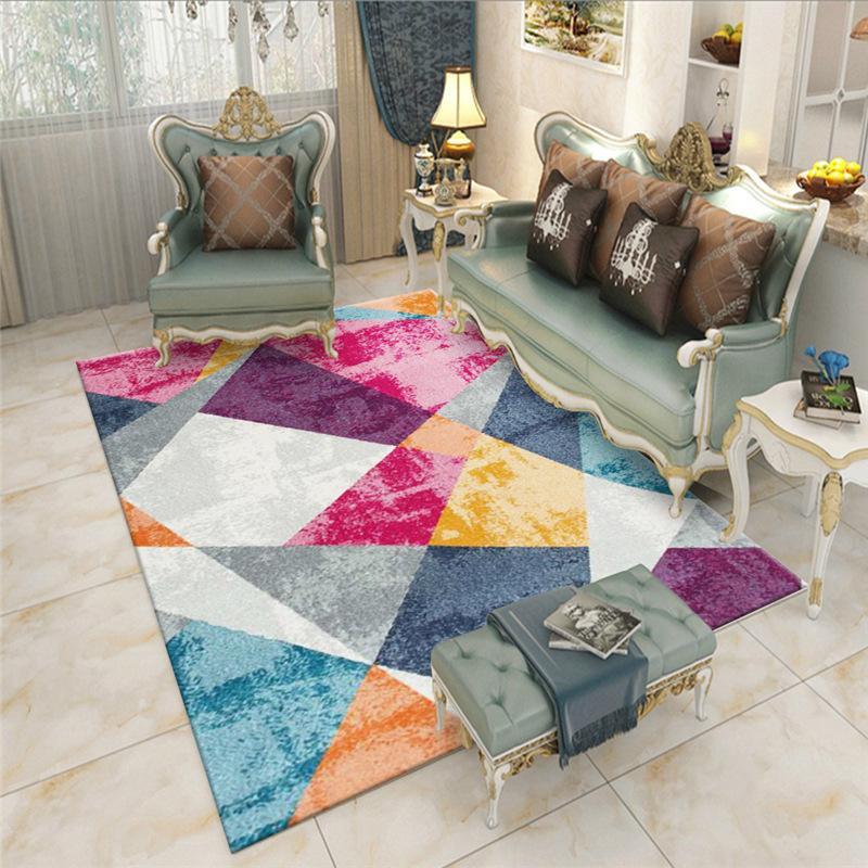 Nordic Simple Rug Living Room Bedroom Geometric Pattern Floor Mat Kitchen Bathroom Non Slip Absorbent Carpet Decoration Home Rug From Williem 17 57 Dhgate Com