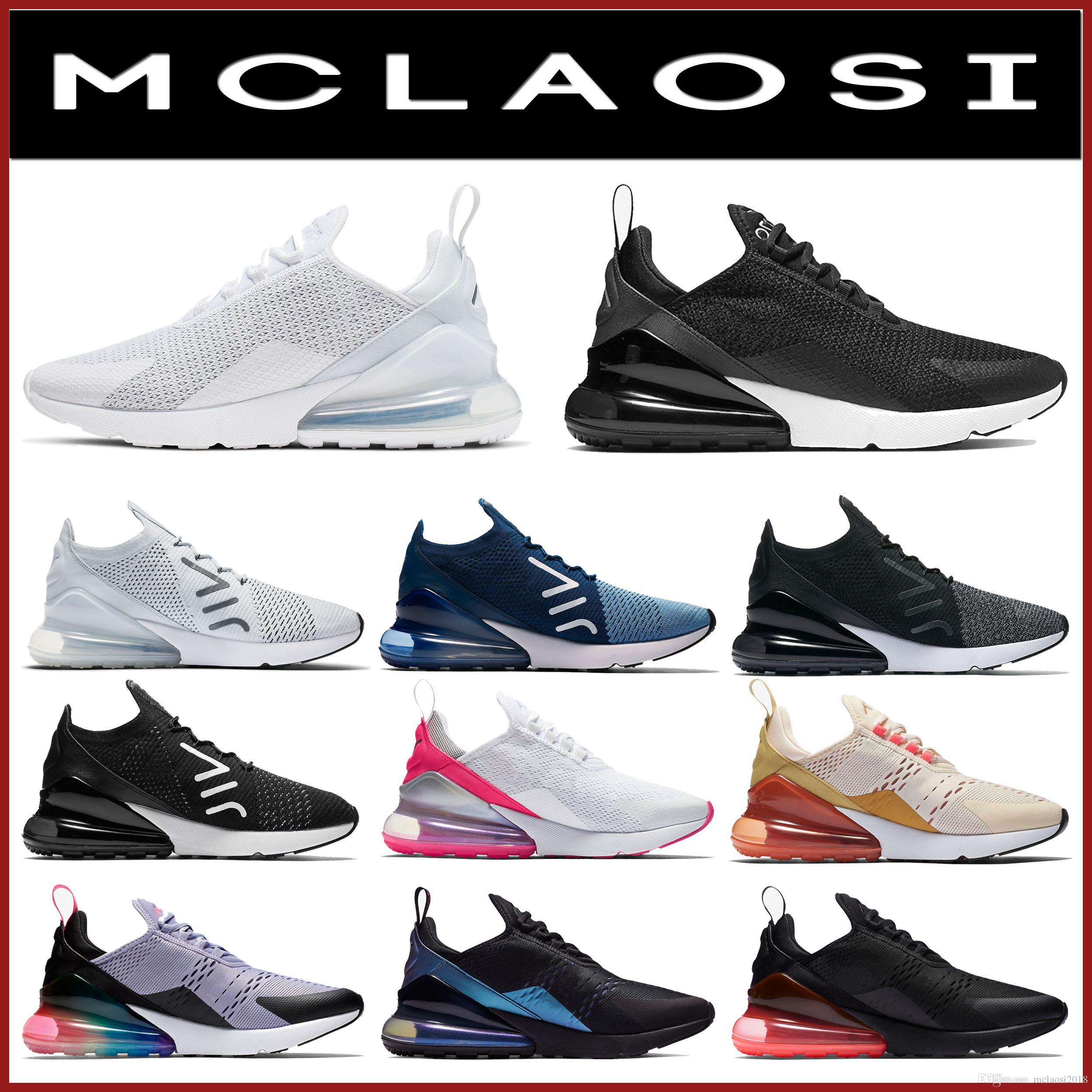 MCLAOSI للبيع أفضل 2020 270 رجل جديد الاحذية والمدربين 27C النساء أحذية رياضية والرياضة shoes.The آخر 270 رجال ونساء أحذية رياضية