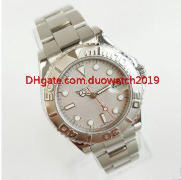 Nuevo vendedor de relojes para mujer de calidad superior LADIES Relojes Platino 169622 Sport 29mm Estilos Reloj de acero inoxidable Mecánico Automati Plegable
