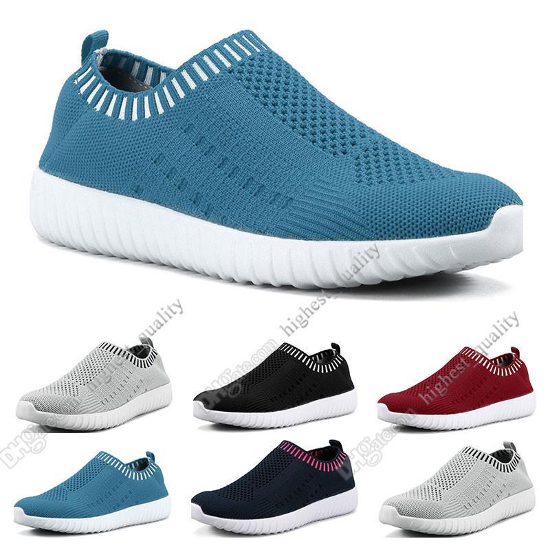 sapatos a melhor venda mulheres de grande porte voando as sapatilhas das mulheres um pé respirável sapatos leves esportivos casuais tênis Seventeen