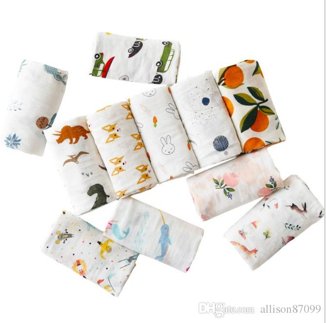 Muslin Nappies Printed with Different Motifs Unicorn