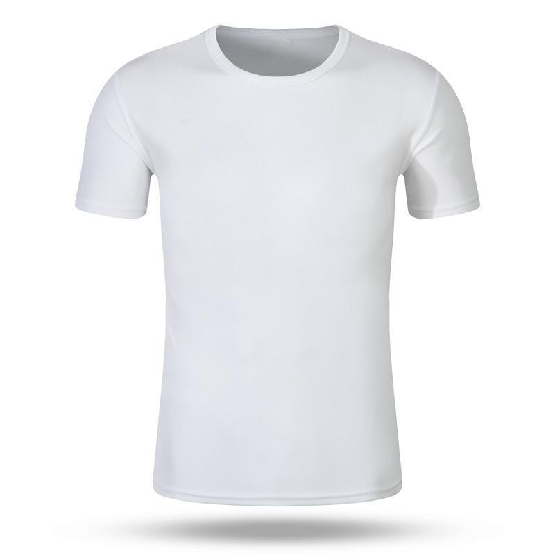 Erkek Ve Kadın Spor Mesh Hızlı Kurutma tişörtler Yuvarlak yakalı, kısa kollu Ve Büyük Beden Gevşek oturan Açık T-shirt