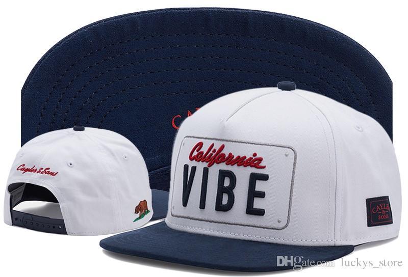 Cappello regolabile per cappelli da baseball hip hop di marca di sport dei cappelli da baseball dei cappelli da baseball dei cappelli di snapback di Cayler Sons Snapbacks per le donne degli uomini