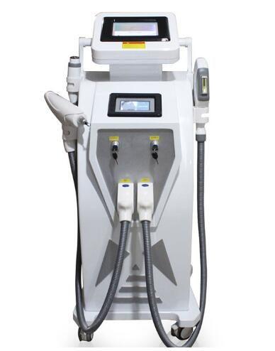 Новый экран двукратное 4 в 1 IPL elight волос удаления татуировки лазера IPL опт/ угорь/пигмента/удаление морщинки/удаление подмолаживания кожи удаления машины