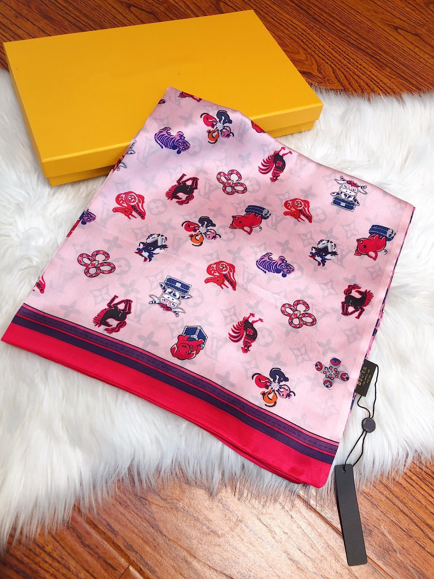 Double satin chiffon 2019 New Fashionable Hot Air Balloon Print Scarf Foulard Femme Hijab Scarves Wrap For Womens Mother Gifts