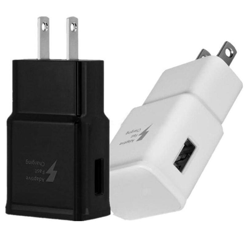 Della parete del USB Charger 2A di ricarica rapida velocità UE CA degli Stati Uniti casa parete alimentatori Adattatore per Samsung S6 S8 S10 Nota 10 htc Huawei