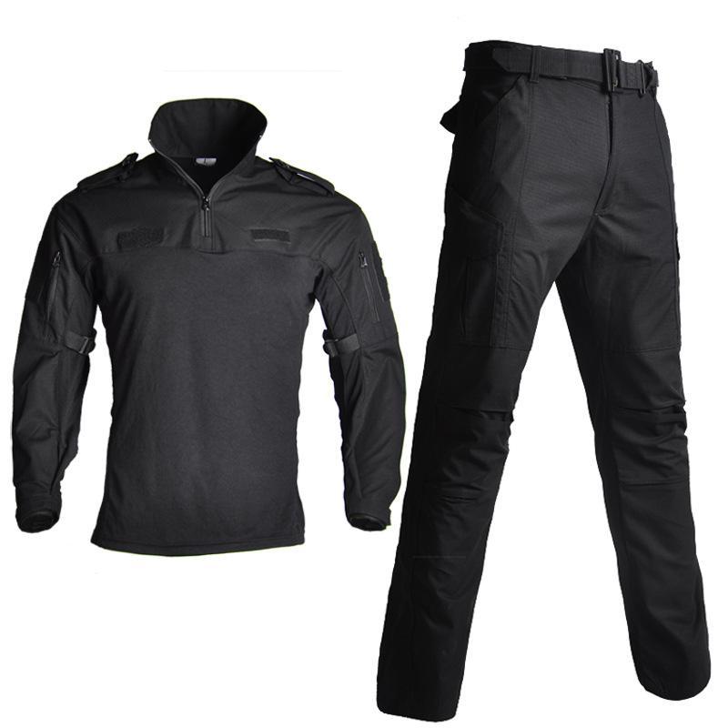 Outdoor Sport Tarnung Jagd Kleidung Taktische Frosch Anzug Armee Setzt Uniform Sniper Combat Shirt + Pants