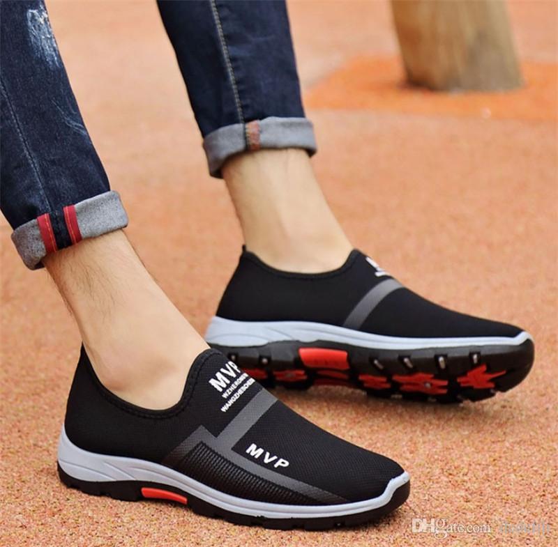 Atacado 2019 sapatos Hot Sale pai respirável casuais selvagem de dois tons fundo macio correndo tendência mes calçado desportivo s-shoes