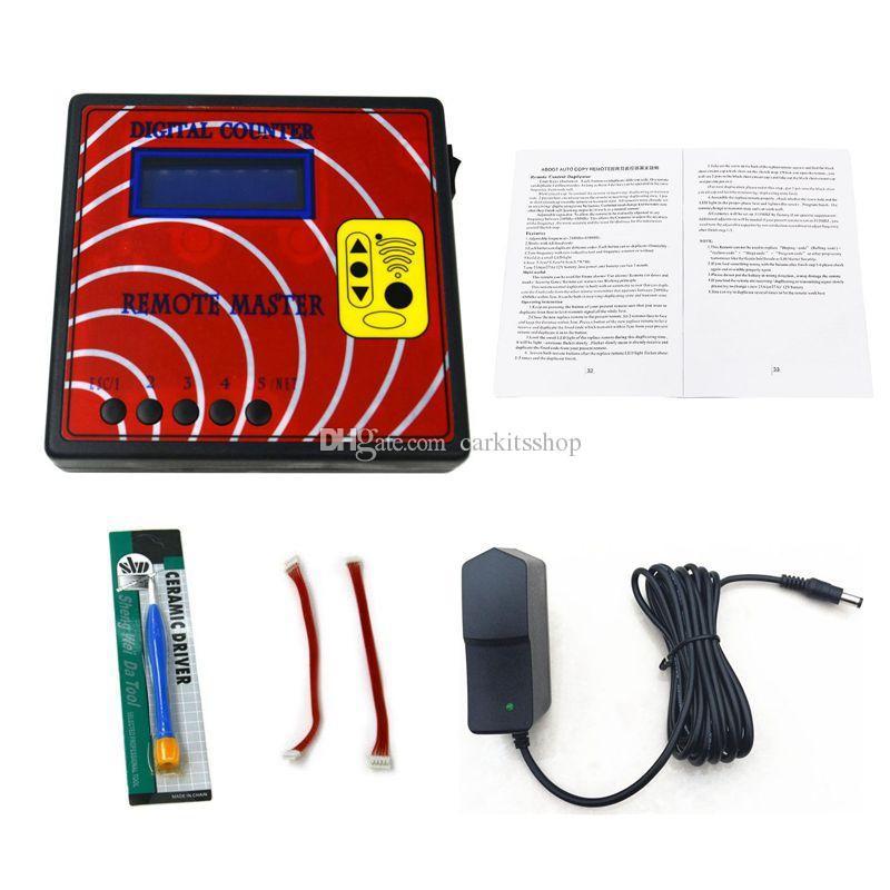 CKS Numérique Testeur de Fréquence Fixe Roulant Télécommande Automatique Copieur Maître Régénérer Télécommande RF Programmeur Clé