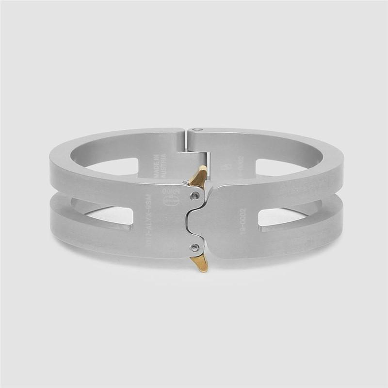 Мода-версия 1017 Аликс 9см американские горки трек Аликс алюминиевый сплав браслет Мужчины Женщины унисекс пары ювелирные изделия браслеты женщины