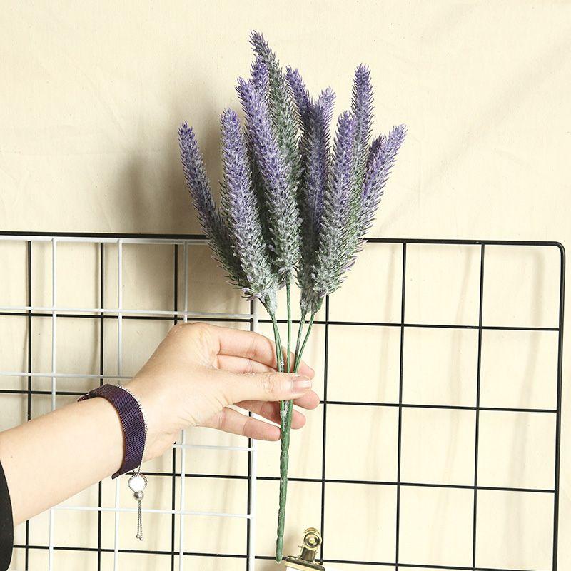 1X Grain Bouquet Grün Artificial Kleine Blätter Pflanze Eukalyptus Grass Home Decor