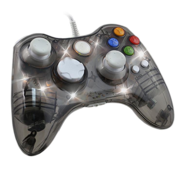 Х- 360 Игра Ручка Интернет USB игровой контроллер Совместимость с Xbox360 игры Хост LED ощущение прохлады свет вибрации тела