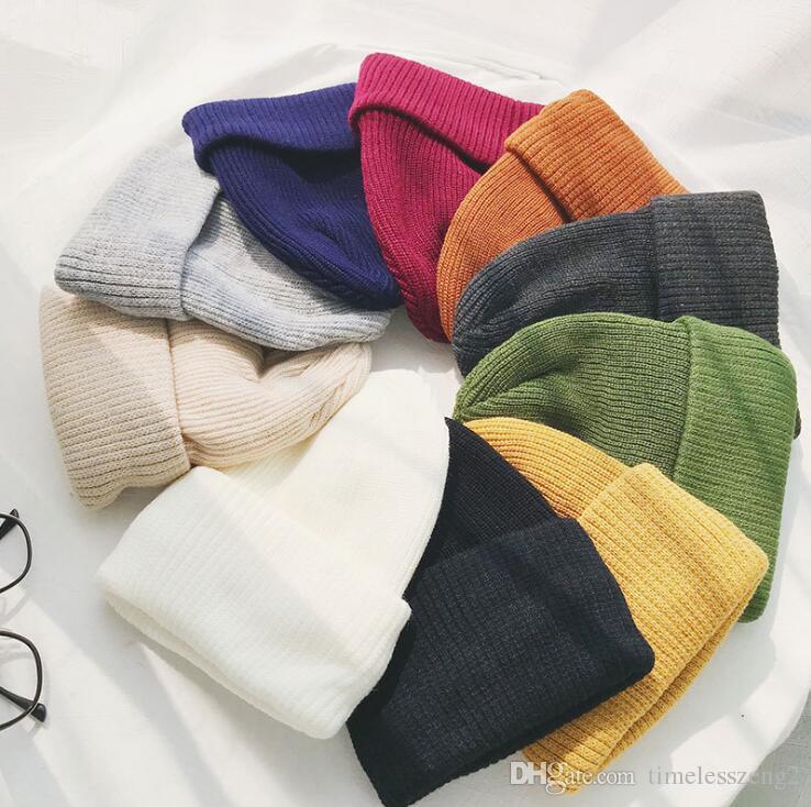 여성 더블 데크 니트 모자 10 색 모직 모자 비니 마스크 해골 모자 겨울 야외 따뜻한 모자 고로 도매 무료 배송