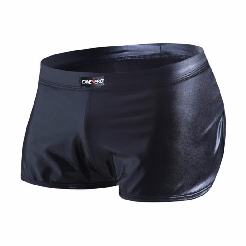 Мужские шорты из искусственной кожи мужской тренажерный зал одежда мужская брюки спортивные блестящие фитнес одежду коротко